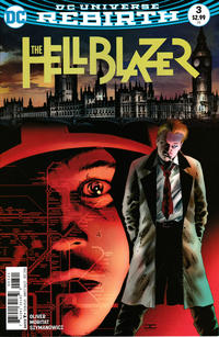 Cover Thumbnail for Hellblazer (DC, 2016 series) #3 [Variant Cover by Cassaday]