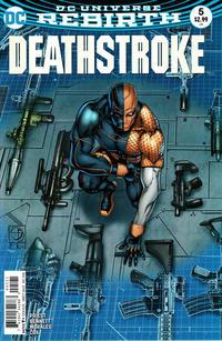 Cover Thumbnail for Deathstroke (DC, 2016 series) #5 [Shane Davis Cover]