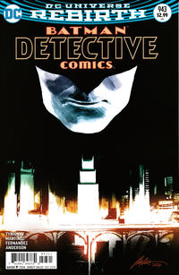 Cover Thumbnail for Detective Comics (DC, 2011 series) #943 [Rafael Albuquerque Cover]