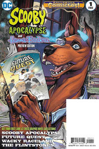 Cover Thumbnail for Scooby Apocalypse/Hanna Barbera Halloween Comics Fest Special Edition (DC, 2016 series) #1