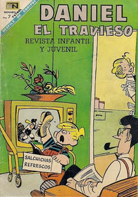 Cover Thumbnail for Daniel el Travieso (Editorial Novaro, 1964 series) #45