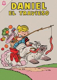 Cover Thumbnail for Daniel el Travieso (Editorial Novaro, 1964 series) #3