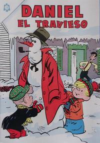 Cover Thumbnail for Daniel el Travieso (Editorial Novaro, 1964 series) #4