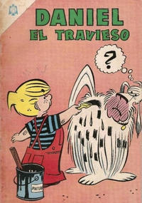 Cover Thumbnail for Daniel el Travieso (Editorial Novaro, 1964 series) #9