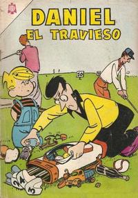 Cover Thumbnail for Daniel el Travieso (Editorial Novaro, 1964 series) #19