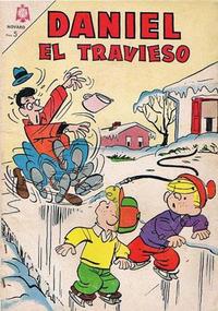 Cover Thumbnail for Daniel el Travieso (Editorial Novaro, 1964 series) #16