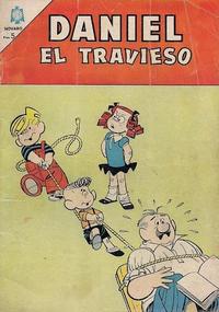 Cover Thumbnail for Daniel el Travieso (Editorial Novaro, 1964 series) #21