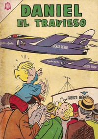 Cover Thumbnail for Daniel el Travieso (Editorial Novaro, 1964 series) #22