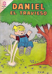 Cover Thumbnail for Daniel el Travieso (Editorial Novaro, 1964 series) #23