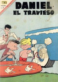 Cover Thumbnail for Daniel el Travieso (Editorial Novaro, 1964 series) #32