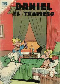 Cover Thumbnail for Daniel el Travieso (Editorial Novaro, 1964 series) #37