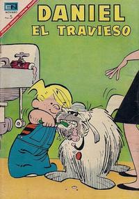 Cover Thumbnail for Daniel el Travieso (Editorial Novaro, 1964 series) #38