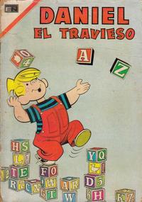 Cover Thumbnail for Daniel el Travieso (Editorial Novaro, 1964 series) #39