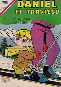 Cover Thumbnail for Daniel el Travieso (Editorial Novaro, 1964 series) #66
