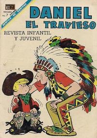Cover Thumbnail for Daniel el Travieso (Editorial Novaro, 1964 series) #43