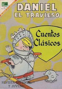 Cover Thumbnail for Daniel el Travieso (Editorial Novaro, 1964 series) #57
