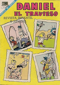 Cover Thumbnail for Daniel el Travieso (Editorial Novaro, 1964 series) #44