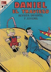 Cover Thumbnail for Daniel el Travieso (Editorial Novaro, 1964 series) #50