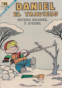 Cover Thumbnail for Daniel el Travieso (Editorial Novaro, 1964 series) #54