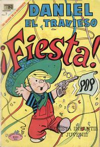 Cover Thumbnail for Daniel el Travieso (Editorial Novaro, 1964 series) #60