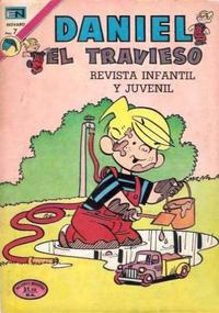 Cover Thumbnail for Daniel el Travieso (Editorial Novaro, 1964 series) #117