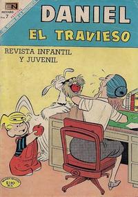 Cover Thumbnail for Daniel el Travieso (Editorial Novaro, 1964 series) #62
