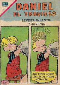 Cover Thumbnail for Daniel el Travieso (Editorial Novaro, 1964 series) #73