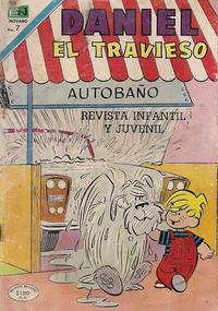 Cover Thumbnail for Daniel el Travieso (Editorial Novaro, 1964 series) #85