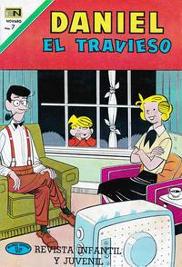 Cover Thumbnail for Daniel el Travieso (Editorial Novaro, 1964 series) #87