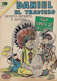 Cover Thumbnail for Daniel el Travieso (Editorial Novaro, 1964 series) #92