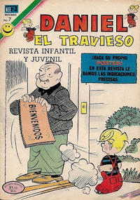 Cover Thumbnail for Daniel el Travieso (Editorial Novaro, 1964 series) #111
