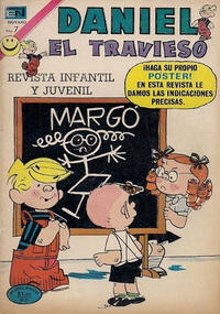 Cover Thumbnail for Daniel el Travieso (Editorial Novaro, 1964 series) #112