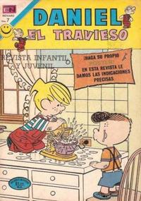 Cover Thumbnail for Daniel el Travieso (Editorial Novaro, 1964 series) #110