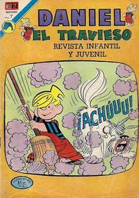 Cover Thumbnail for Daniel el Travieso (Editorial Novaro, 1964 series) #115