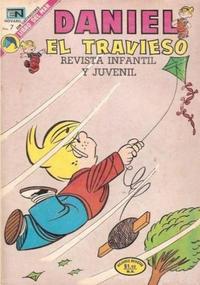 Cover Thumbnail for Daniel el Travieso (Editorial Novaro, 1964 series) #125