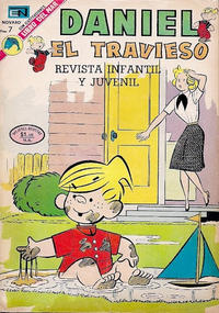 Cover Thumbnail for Daniel el Travieso (Editorial Novaro, 1964 series) #128
