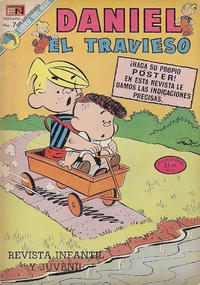 Cover Thumbnail for Daniel el Travieso (Editorial Novaro, 1964 series) #131