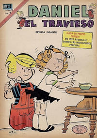 Cover Thumbnail for Daniel el Travieso (Editorial Novaro, 1964 series) #137