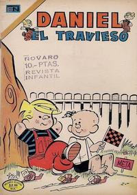 Cover Thumbnail for Daniel el Travieso (Editorial Novaro, 1964 series) #147