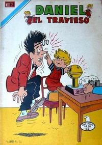 Cover Thumbnail for Daniel el Travieso (Editorial Novaro, 1964 series) #258