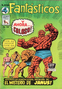 Cover Thumbnail for Los 4 Fantásticos (Editora de Periódicos La Prensa S.C.L., 1962 series) #134