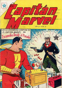 Cover Thumbnail for El Capitan Marvel (Editorial Novaro, 1952 series) #15