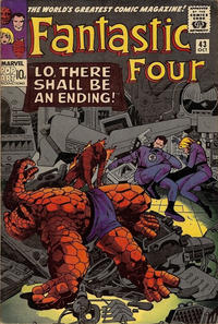 Cover for Fantastic Four (Marvel, 1961 series) #43 [Regular Edition]