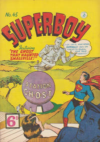 Cover Thumbnail for Superboy (K. G. Murray, 1949 series) #45 [6D]