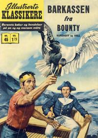 Cover Thumbnail for Illustrerte Klassikere [Classics Illustrated] (Illustrerte Klassikere / Williams Forlag, 1957 series) #45 - Barkassen fra Bounty [3. opplag]