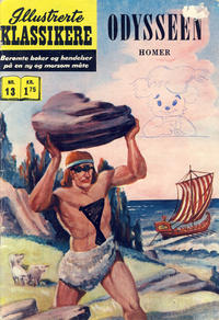 Cover Thumbnail for Illustrerte Klassikere [Classics Illustrated] (Illustrerte Klassikere / Williams Forlag, 1957 series) #13 - Odysseen [3. opplag]