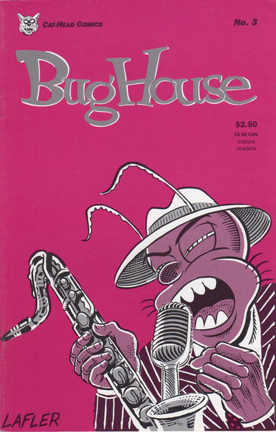 Cover for Bughouse (Cat-Head Comics, 1994 series) #3