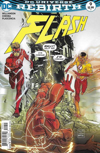 Cover for The Flash (DC, 2016 series) #9 [Carmine Di Giandomenico Cover]