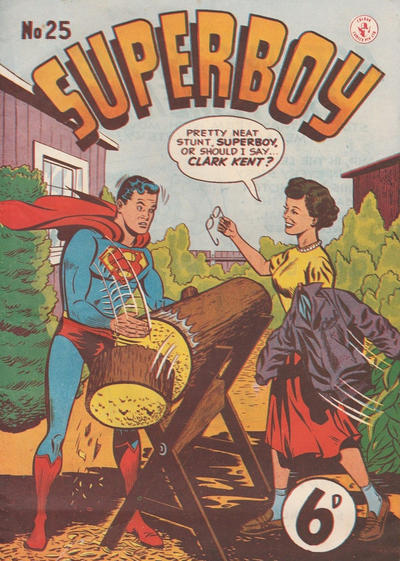 Cover for Superboy (K. G. Murray, 1949 series) #25