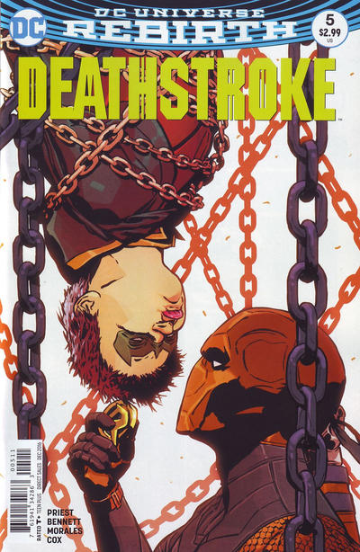 Cover for Deathstroke (DC, 2016 series) #5 [Shane Davis Cover]